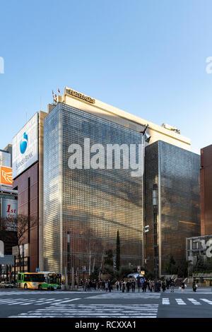 Ginza Maison Hermès, Chuo-Ku, Tokyo, Japon. Conçu par Renzo Piano. Construite en 2001. Banque D'Images