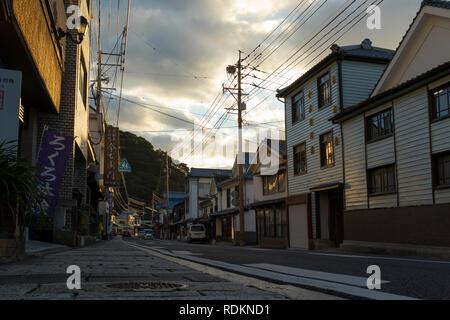 Arita, JAPON - 30 octobre 2018: Old street dans le centre ville d'Arita Arita yaki, célèbre pour, Préfecture de Saga