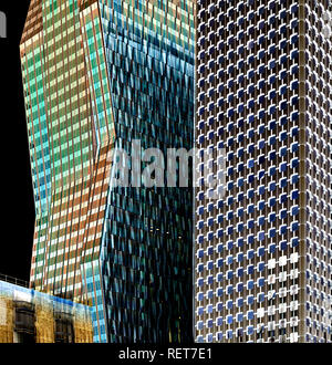 Haut-de-Seine (92) gratte ciel. Quartier de la Défense // France. Haut-de-Seine (92) quartier financier de la Défense Banque D'Images
