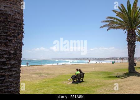 Melkbosstrand Beach à Western Cape, Cape Town, Afrique du Sud Banque D'Images