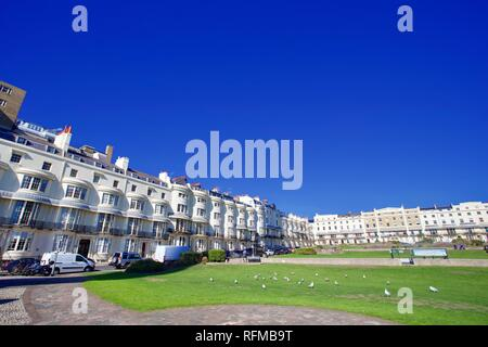 Regency Square, Brighton, East Sussex, Angleterre. Banque D'Images