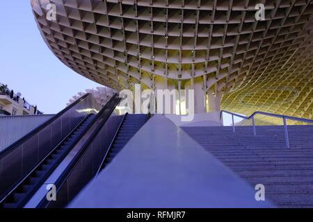 Metropol Parasol Mushroom Canopy Las Setas de la Encarnación Seville Espagne