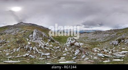 Alrrededores del monte Aratz. Banque D'Images
