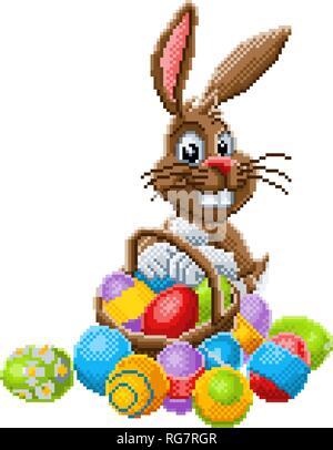 Lapin Pixel Art Banque Dimages Photo Stock 110886101 Alamy