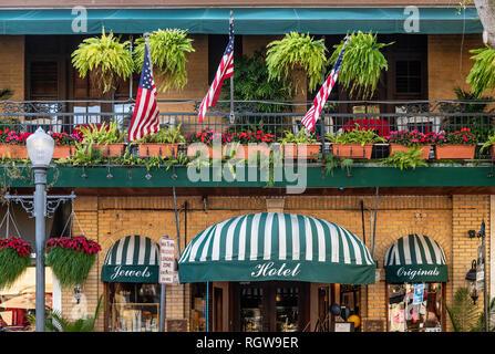 Park Plaza Boutique Hotel, Winter Park, Floride, USA. Banque D'Images