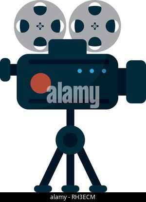 Caméra professionnelle Banque D'Images