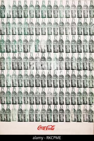 Les bouteilles de Coca-Cola Green, 1962, Andy Warhol Banque D'Images