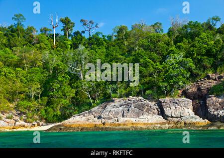 Adang archipel. Le Parc National marin de Tarutao. Province de Phang Nga, la mer d'Andaman, en Thaïlande, en Asie Banque D'Images