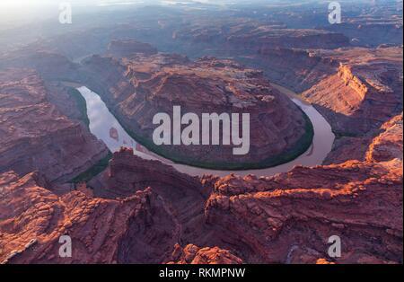 Colorado river, Canyonlands National Park, Utah, USA, Amérique latine. Banque D'Images