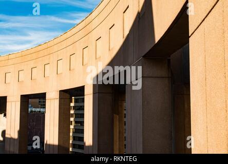 Bibliothèque publique de Vancouver, le centre-ville de Vancouver, BC, Canada. Banque D'Images