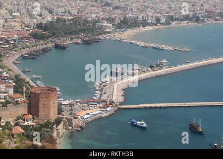 Alanya, Turquie, Europa / / Fragments de la ville