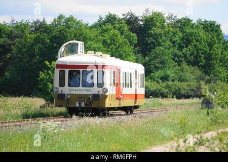 Train touristique, Parc Naturel Régional du Livradois-Forez
