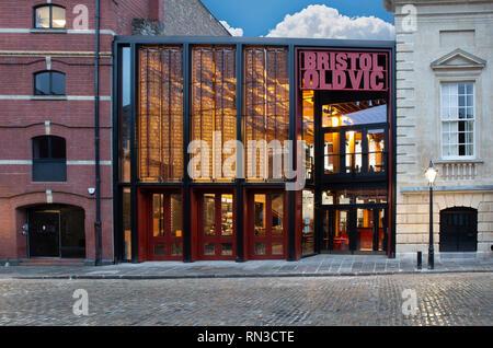 SWINDON, Royaume-Uni - 16 février 2019: le Bristol Old Vic Theatre King Street Bristol Banque D'Images