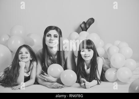 Anniversaire, du bonheur, de l'enfance. Banque D'Images