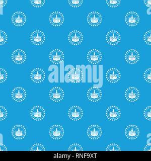 L'ail vecteur modèle bleu transparent Banque D'Images