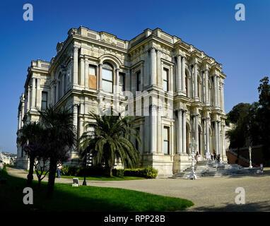 Palais Beylerbeyi à Istanbul, Turquie Banque D'Images