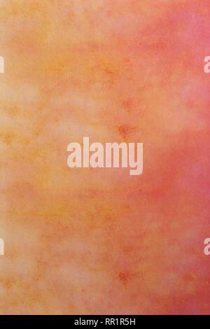 Résumé Contexte Le corail rose vieux mur papier peint Banque D'Images