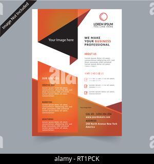 Brochure d'entreprise Banque D'Images