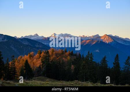 Allemagne, Berlin, Alpes, près de Bad Tölz, Isarwinkel Banque D'Images