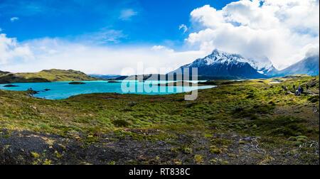 Le Chili, la Patagonie, le Parc National Torres del Paine, Lago Nordenskjold