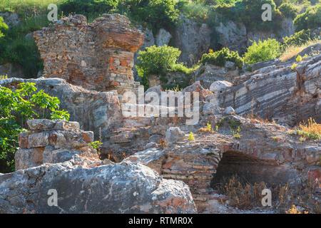 Grotte des Sept Dormants, Ephèse, Selcuk, Izmir, Turquie Province Banque D'Images