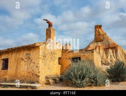 Castil de tierra à Bardenas Reales, Navarre