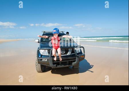 Fraser Island, Queensland, Australie Banque D'Images