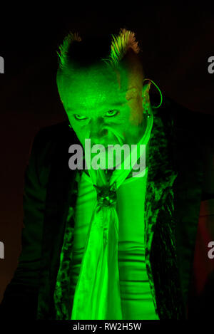 Keith Flint - The Prodigy / V Festival 2010, Hylands Park, Chelmsford, Essex, Angleterre Banque D'Images