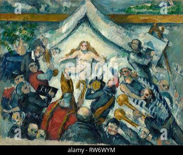 L'éternel féminin; Paul Cézanne (Français, 1839 - 1906); France; environ 1877; Huile sur toile, 43,5 × 53,3 cm (17 1/8 x 21 in.); 87.PA.79c de l'image numérique Banque D'Images