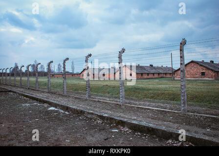 Auschwitz Birkenau Banque D'Images