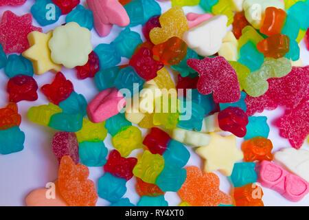 Jellys ours gommeux et fruits