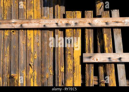 Vieilles portes de garage, l'Allemagne, de l'Europe Banque D'Images