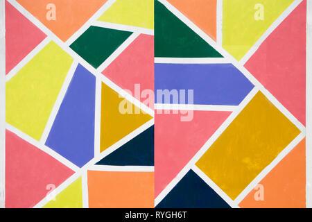 Collection colorée de fond en papier recyclé en haute qualité - taille de l'image totale