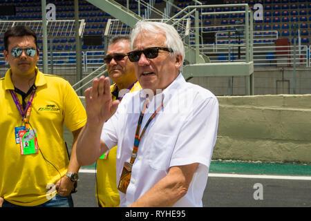 Charlie Whiting PHOTOS FICHIER F1 14 mars 2019 Le directeur est mort. MELBOURNE, VI - 11.11.2015: MORRE CHARLIE WHITING DIRECTEUR DA F1 - FIA Charlie Whiting, directeur de Formule Un est mort ce matin (14 mars 2019) à Melbourne à l'âge de 66 ans à la suite d'une embolie pulmonaire, trois jours avant le Grand Prix d'Australie, qui ouvrira la saison. F1. Il a commencé sa carrière en F1 1977, le travail à l'équipe Hesketh, puis dans les années 80 dans Brabham. Crédit: Foto Arena LTDA/Alamy Live News Banque D'Images