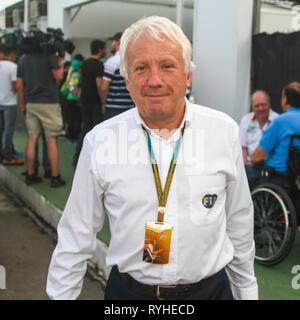 Charlie Whiting PHOTOS FICHIER F1 14 mars 2019 Le directeur est mort. MELBOURNE, VI - 07.11.2014: MORRE CHARLIE WHITING DIRECTEUR DA F1 - FIA Charlie Whiting, directeur de Formule Un est mort ce matin (14 mars 2019) à Melbourne à l'âge de 66 ans à la suite d'une embolie pulmonaire, trois jours avant le Grand Prix d'Australie, qui ouvrira la saison. F1. Il a commencé sa carrière en F1 1977, le travail à l'équipe Hesketh, puis dans les années 80 dans Brabham. Crédit: Foto Arena LTDA/Alamy Live News Banque D'Images