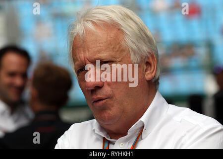 Charlie Whiting PHOTOS FICHIER F1 Le directeur de course est mort aujourd'hui, Melbourne,... Charlie Whiting PHOTOS FICHIER F1 Le directeur de course est décédé le 14 mars 2019. Melbourne, Australie. Mar 26, 2017. © Photo4/LaPresse 26/03/2017 Melbourne, Australie Le Sport Grand Prix de Formule 1 l'Australie 2017 Dans le pic: Charlie Whiting (GBR), directeur de course et délégué Crédit: LaPresse/Alamy Live News Banque D'Images