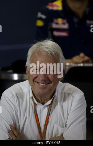 Charlie Whiting PHOTOS FICHIER F1 Le directeur de course est mort aujourd'hui, Melbourne,... Charlie Whiting PHOTOS FICHIER F1 Le directeur de course est décédé le 14 mars 2019. Sao Paulo, Brésil. 10 Nov, 2016. © Photo4/LaPresse 10/11/2016 Sao Paulo, Brésil Sport Grand Prix de Formule 1 Brésil 2016 Dans le pic: Charlie Whiting (GBR), directeur de course et délégué Crédit: LaPresse/Alamy Live News Banque D'Images