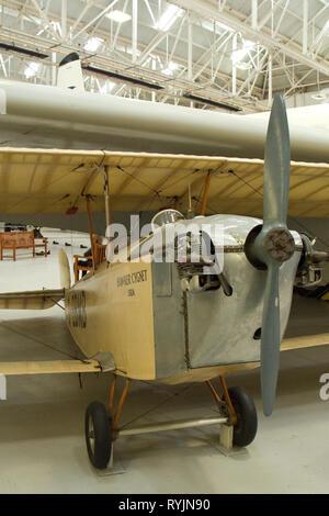 Cygnet Hawker 1920 Vintage Biplane Banque D'Images