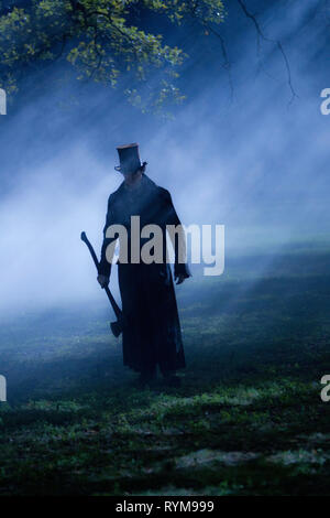 BENJAMIN WALKER, ABRAHAM LINCOLN : VAMPIRE HUNTER, 2012 Banque D'Images