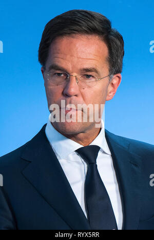 Mark Rutte - * 24.02.1967: homme politique néerlandais depuis 2010 et Premier ministre des Pays-Bas. Banque D'Images