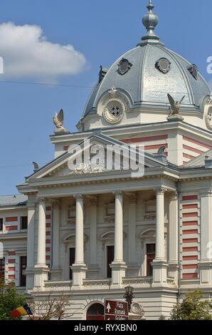 Bucarest, Roumanie - 23 août 2018: Vue de l'Hôpital Coltea, construit entre 1867-1888 par l'architecte Joseph Schiffler, sur les ruines d'un ancien hôpital Banque D'Images