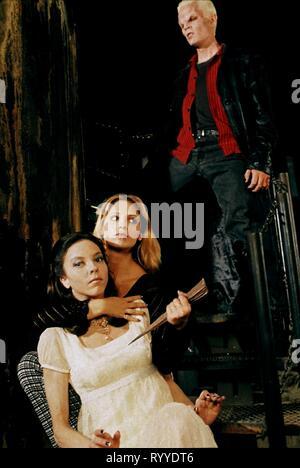 GELLAR,LANDAU,MARSTERS, Buffy Contre Les Vampires: Saison 2, 1997 Banque D'Images