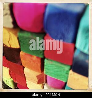 pastels de couleur Banque D'Images