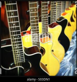 Ligne de guitares