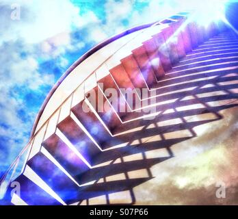 Stairway To Heaven Banque D'Images