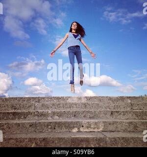 En haut de mon coeur Banque D'Images