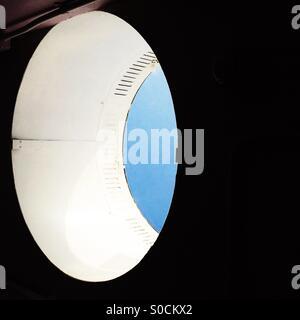 Puits de lumière elliptique abstrait Banque D'Images