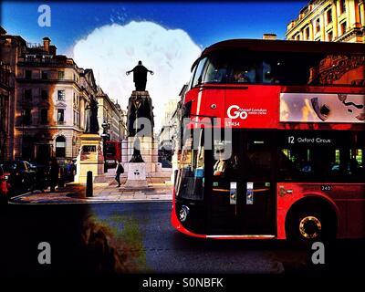 Les gardiens de la guerre de Crimée Memorial, Waterloo Place, St James's, City of Westminster, le centre de Londres, Banque D'Images