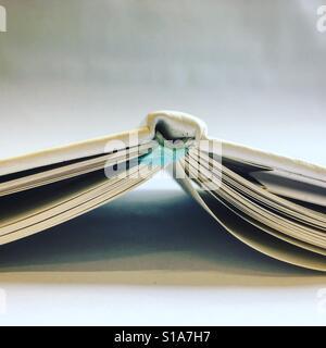 Flipped livre Banque D'Images