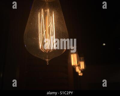 Ampoules Old vintage Banque D'Images
